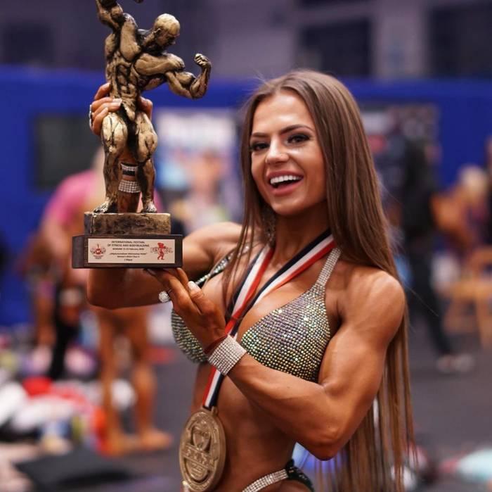Юлия Мишура — победительница международного фестиваля по фитнесу и бодибилдингу 2020