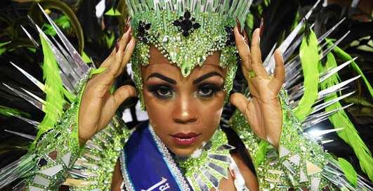 Самба-королевы: фото самых горячих танцовщиц карнавала в Рио-де-Жанейро 2020