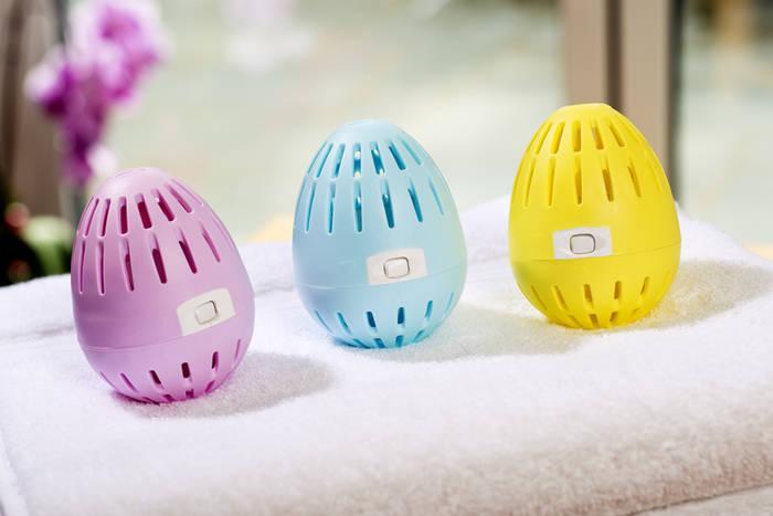 Яйцо для стирки поможет избежать аллергии и синтетических моющих средств