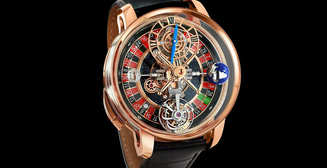 Любителям казино: часы Jacob & Co Astronomia Casino с функциональной рулеткой
