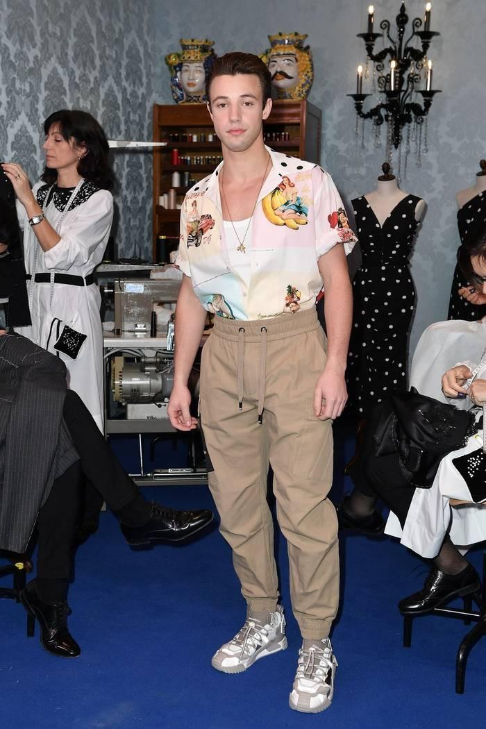 Кэмерон Даллас в Dolce & Gabbana NS1