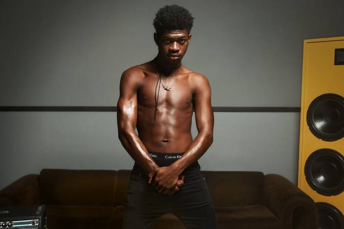 "Lil Nas X для кампании Calvin Klein's ""Deal With It"""