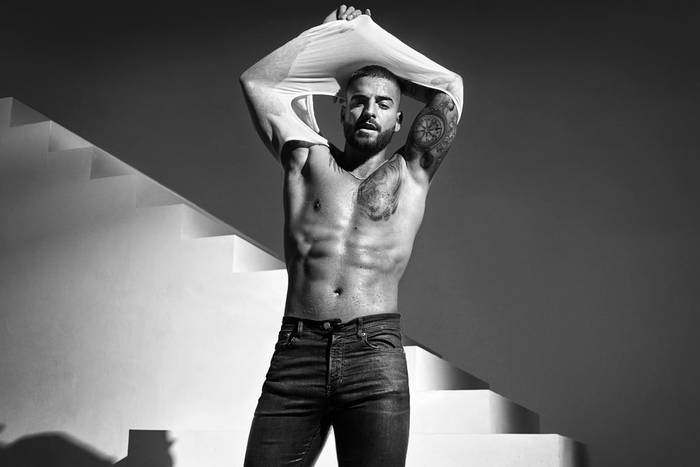 "Maluma для кампании Calvin Klein's ""Deal With It"""
