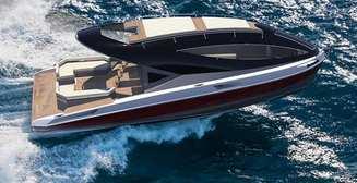 Вдохновленная космосом: супер-яхта LAZZARINI F33 SPAZIALE YACHT за $600 000