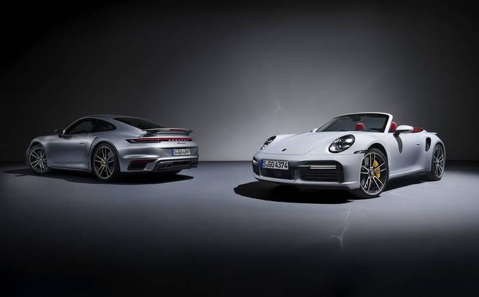 Porsche 911 Turbo нового поколения. Как тебе?