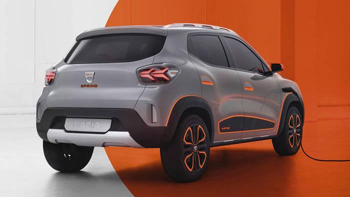 Dacia SpringElectric Concept. В Китае продается с 2019