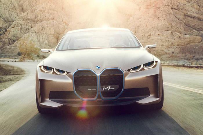 BMW i4 был представлен с новым лейблом