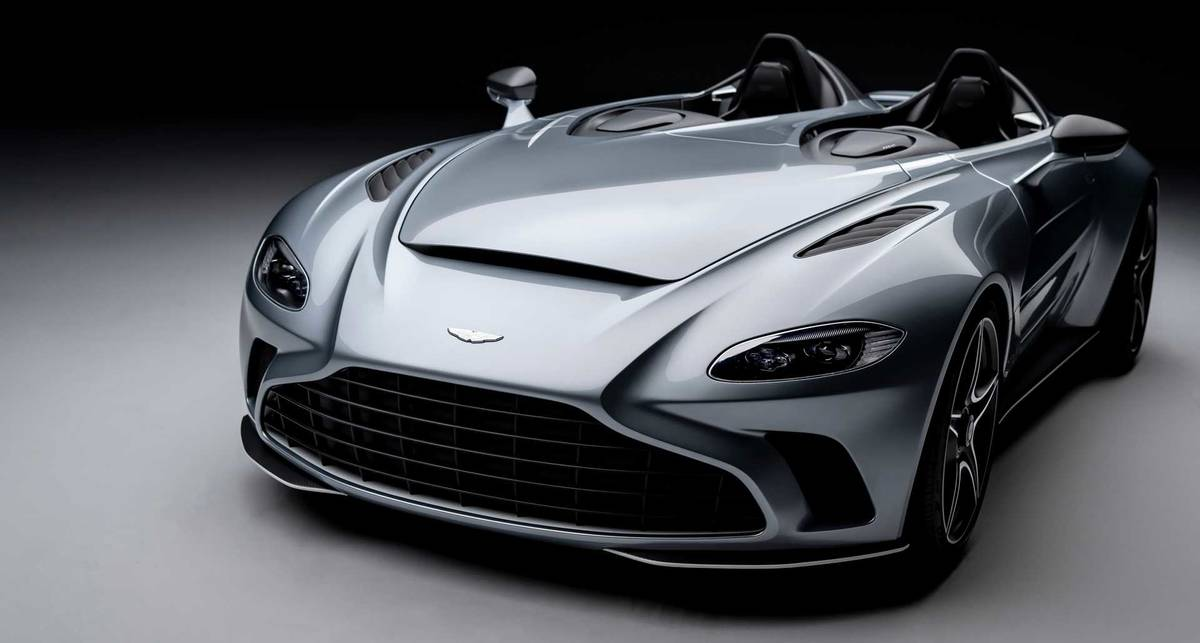 Почти F/A-18: Aston Martin V12 Speedster с силуэтами бомбардировщика