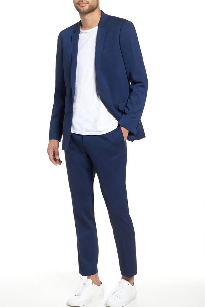 Как выбрать мужской костюм для весны и лета — долой подкладки