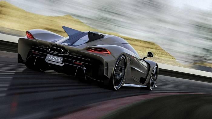 Koenigsegg Jesko Absolut. Был презентован в один день с Koenigsegg Gemera