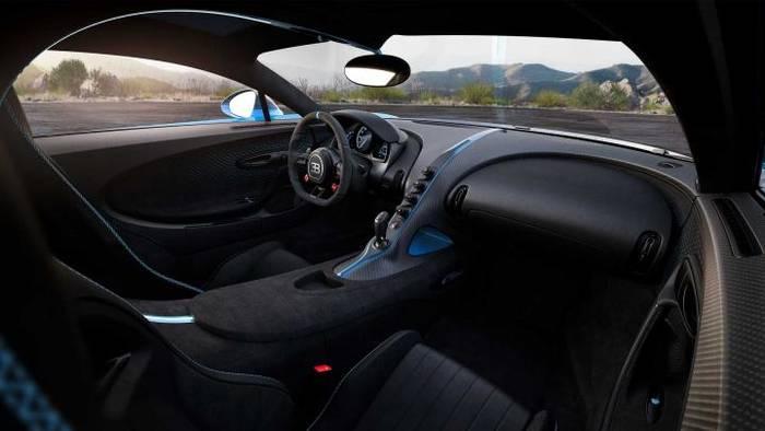 Bugatti Chiron Pur Sport 2020 стал легче на 50 кг