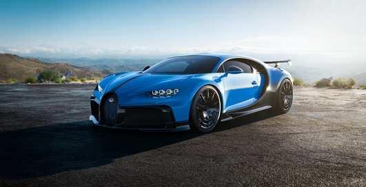 Чистейший спорт: 1500-сильный и совершенный Bugatti Chiron Pur Sport 2020