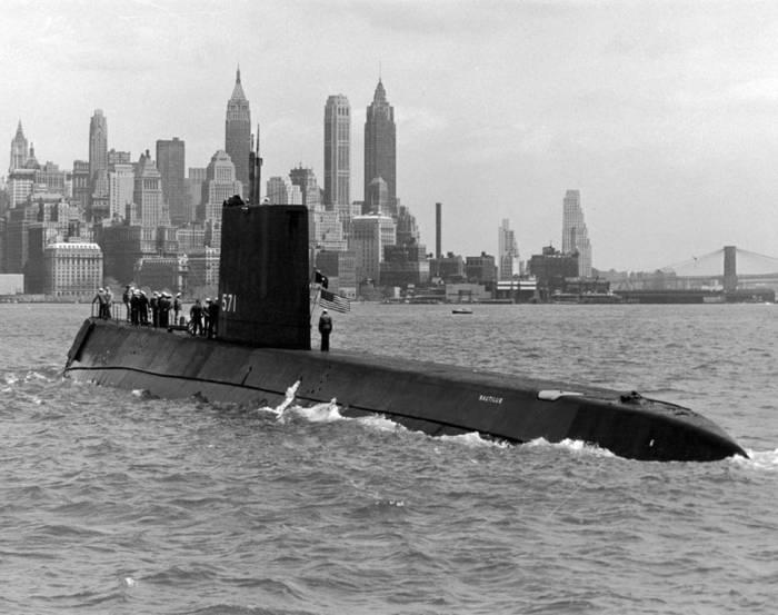 """SSN-571 """"Наутилус"""". Первым достиг Северного полюса"""