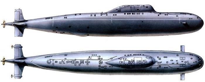 """Проект 705 """"Лира"""". Перевернул представление о подводном флоте"""