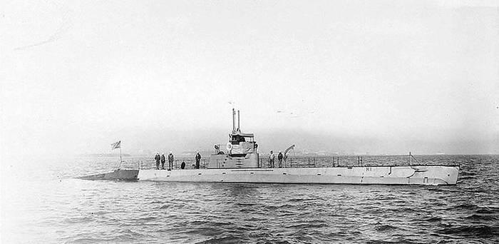 Класс Holland. Одни из первых подводных лодок США