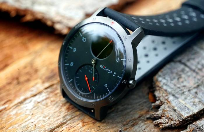 Withings Steel HR Sport.