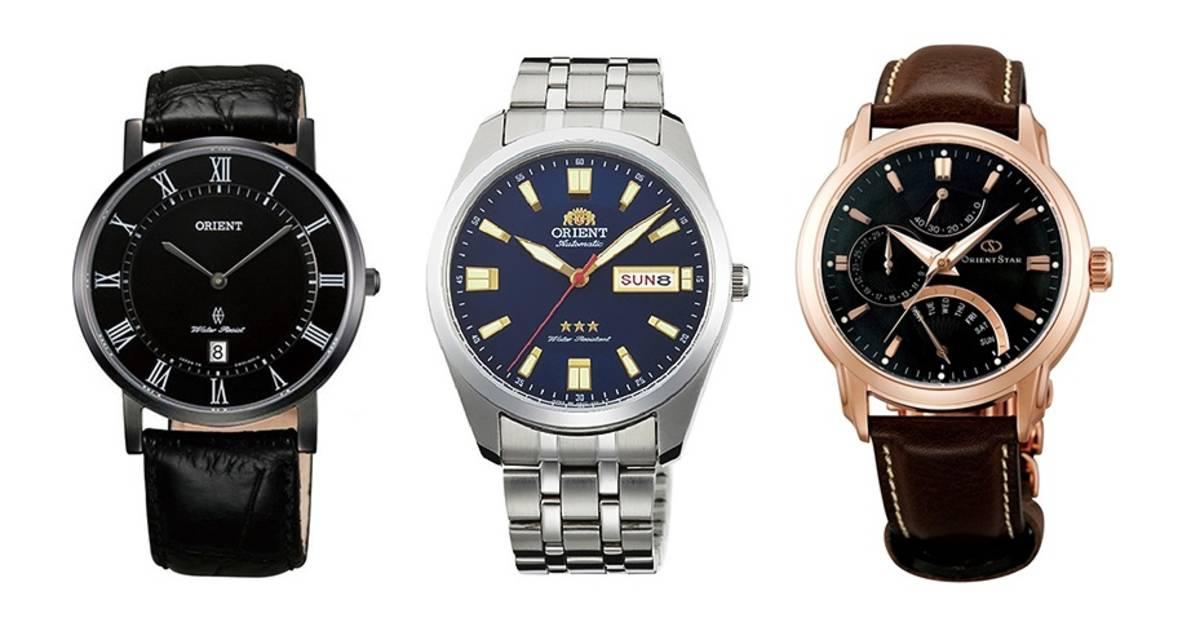 Часы Orient — японская точность на запястье