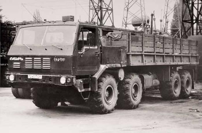 """1989 год, КрАЗ-7Э6316 """"Сибирь"""""""