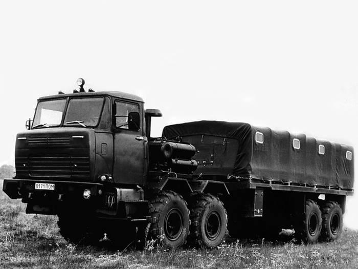 1982 год, КрАЗ ЧР-3120