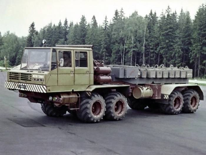 1976 год, КрАЗ-6434