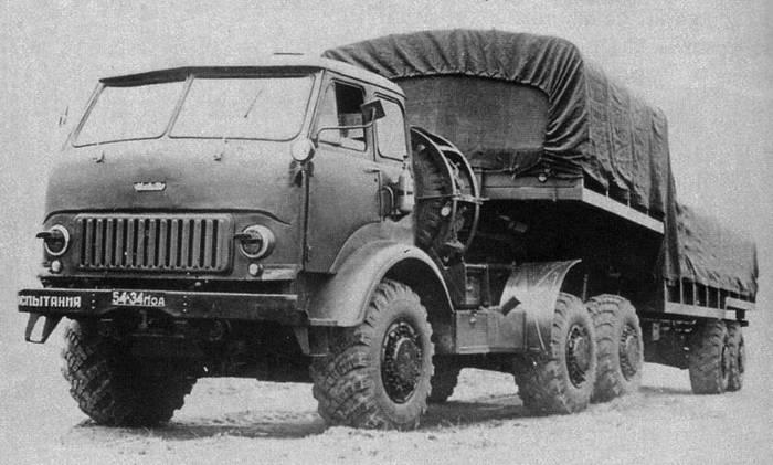 1967 год, КрАЗ-Э259Б