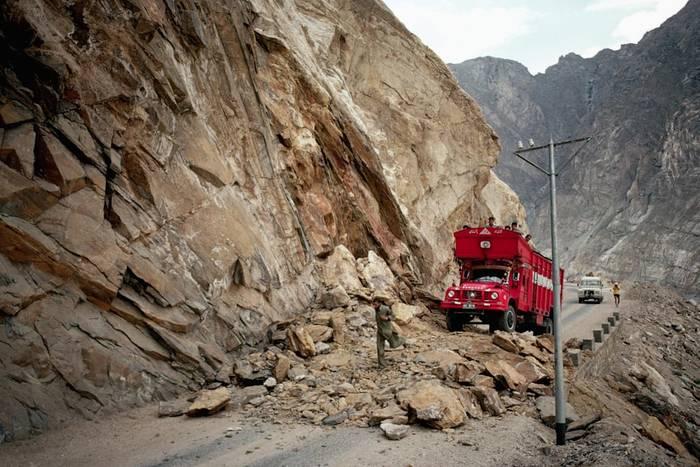 """Каракорумское шоссе """"Дружба"""", Китай-Пакистан. Самая высокорасположенная дорога на планете (4714 м)"""