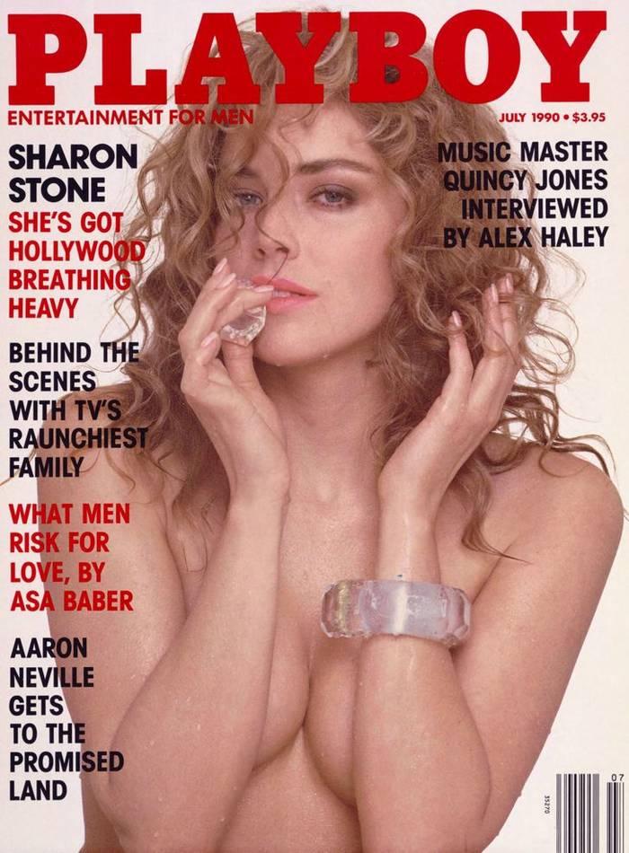 Шэрон Стоун появилась в соблазнительном виде в 1990