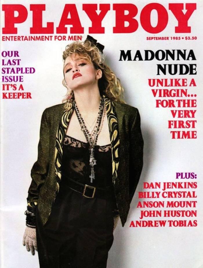 Мадонна появлялась на обложках Playboy в десяти странах
