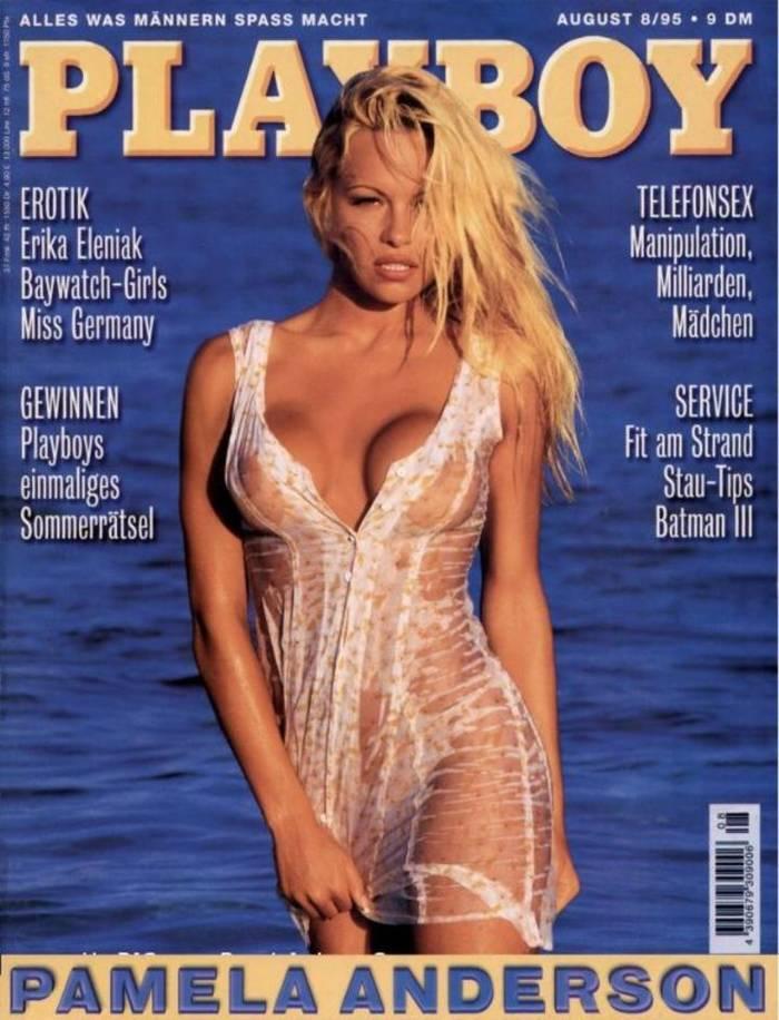 Памела Андерсон украсила обложку мужского журнала 151 раз в 31 стране