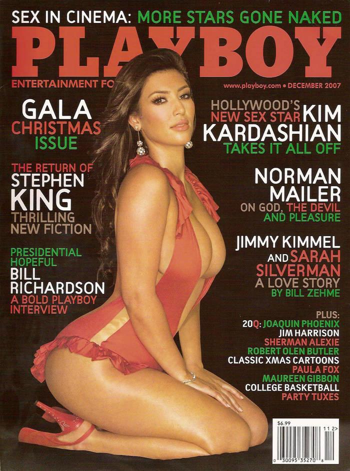 """Журнал с Ким Кардашьян на обложке вышел вскоре после премьеры реалити-шоу """"Семейство Кардашьян"""""""