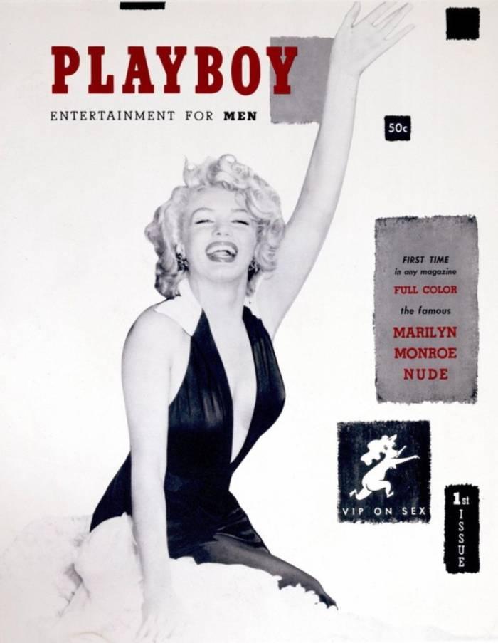 Мэрилин Монро была первой моделью на обложке Playboy