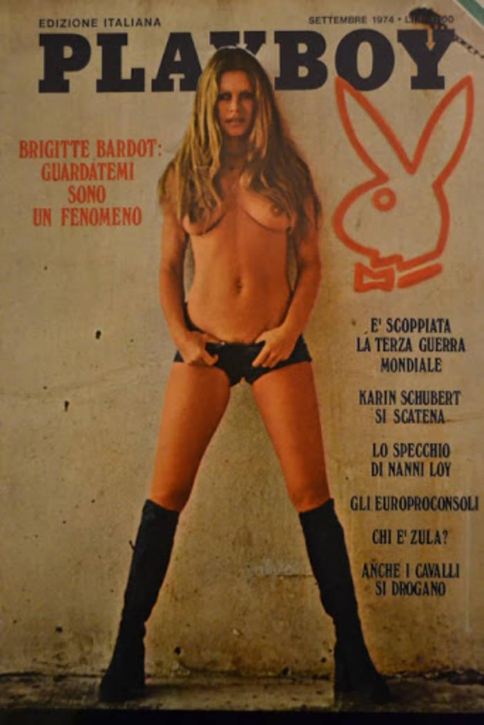 Брижит Бардо позировала обнаженной еще в 1974