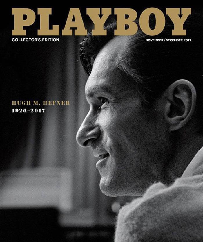Коллекционный выпуск Playboy в знак уважения Хью Хефнеру