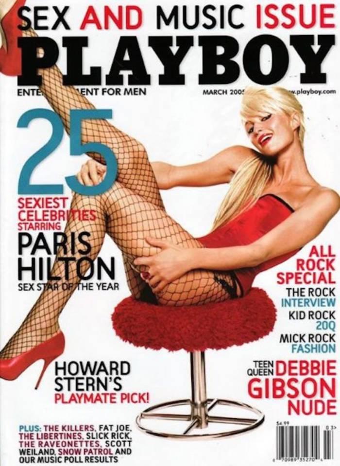 Пэрис Хилтон снялась для обложек мужского журнала в США и Словакии