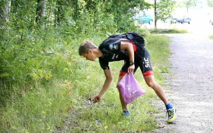 Ратуешь за чистую окружающую среду - займись плоггингом (бег + сбор мусора)