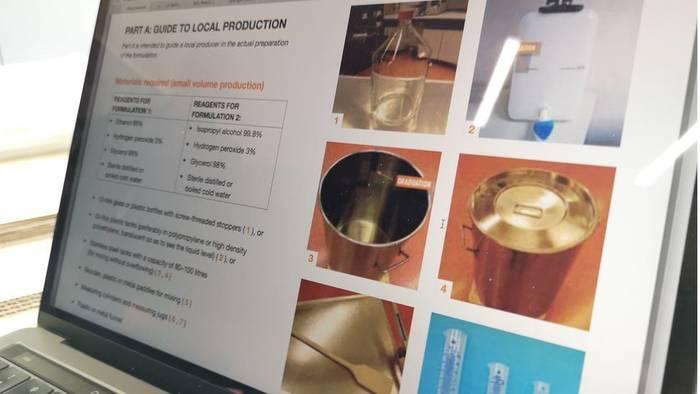 Заводы виски перепрофилировались: теперь производят санитайзеры
