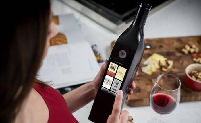 Умная винная бутылка. Все расскажет о вине