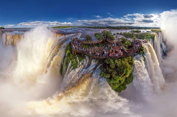 Водопад Игуасу, Бразилия/Аргентина. Это чудо