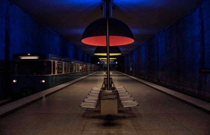 Мюнхен. Метро без пассажиров