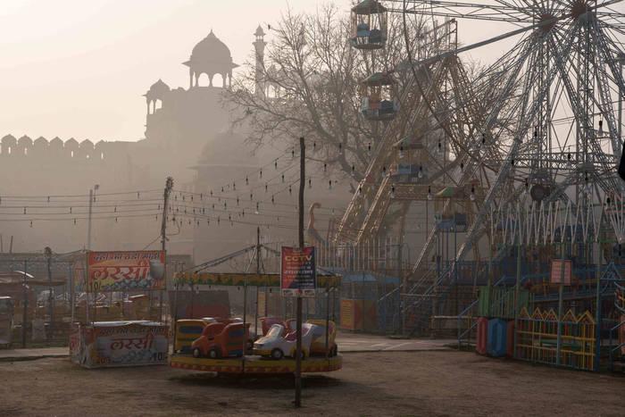 Нью-Дели. День ярмарки в Красном форте