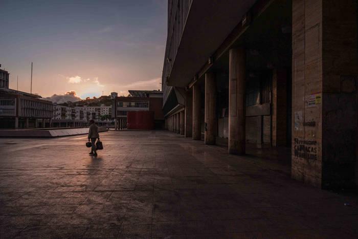 Каракас. Второй день общенационального карантина Венесуэлы