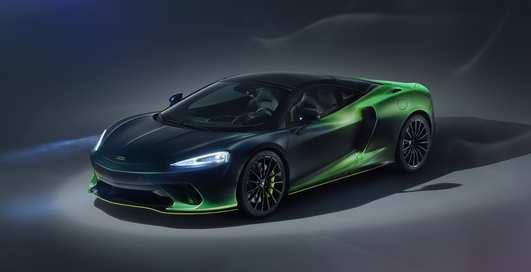 Зеленее листвы: тюнингованный McLaren GT Verdant Theme, который красили 430 часов
