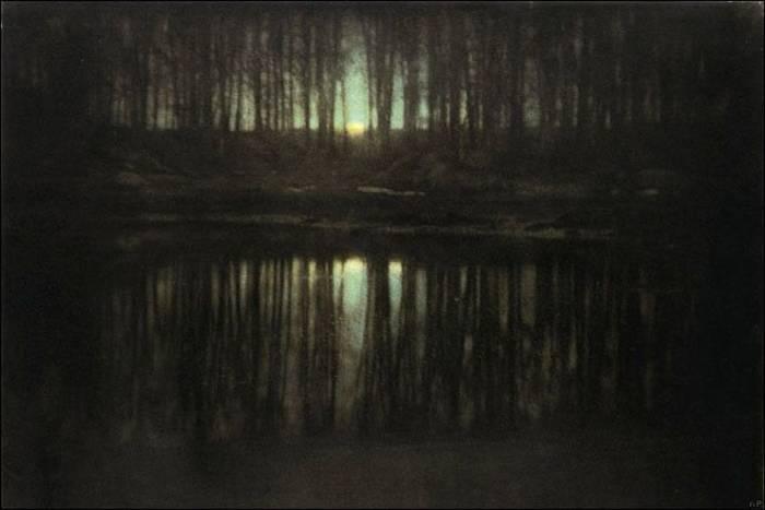 Эдвард Штайхен: «Пруд при лунном свете» ($3 млн)