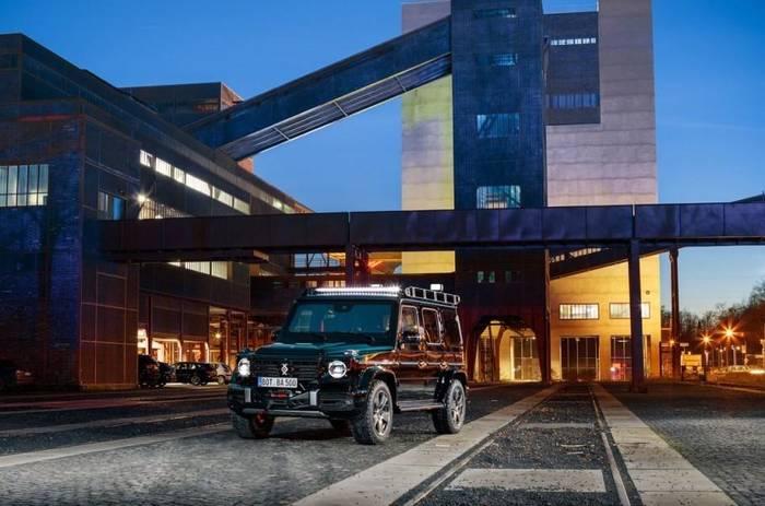 Mercedes-Benz G-Class Invicto — не только  броневик, но и технологично нафаршированный внедорожник