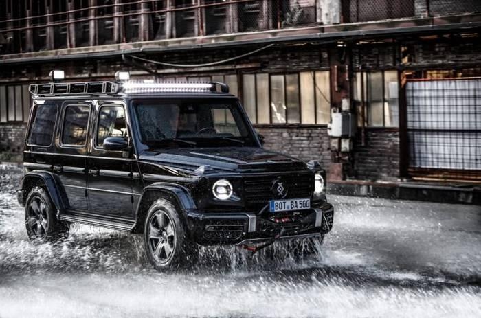 Mercedes-Benz G-Class Invicto даже оснащен системой подачи свежего воздуха