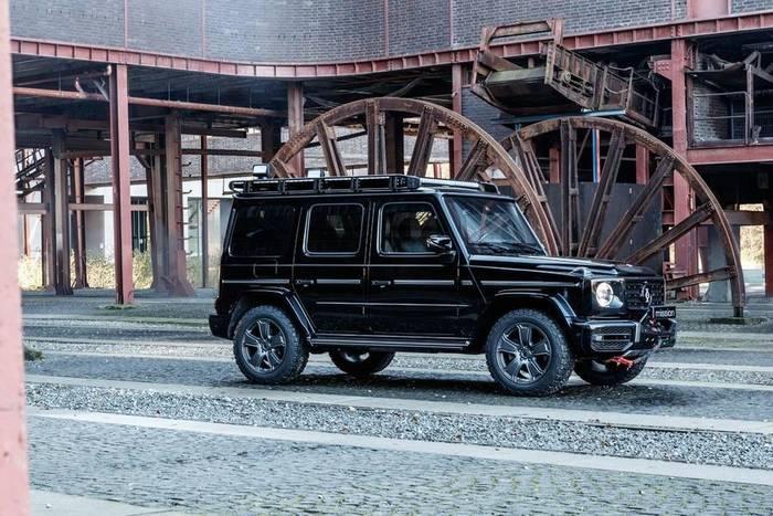 Все элементы Mercedes-Benz G-Class Invicto Mission закреплены бесшовным способом