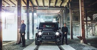 Мечта авторитета: лихой Mercedes-Benz G-Class Invicto Mission от Brabus