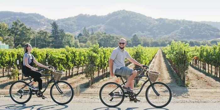 Частный велотур по долине Напа — для любителей вина