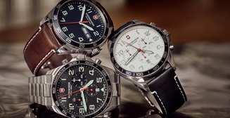От создателей швейцарского ножа: стильные мужские часы Victorinox FieldForce GMT