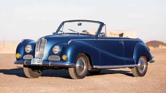 BMW 502 Cabriolet Baur (1956) - 315 000 евро